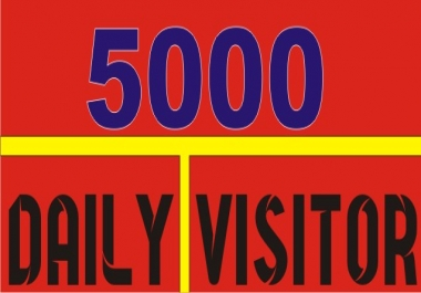 8000 real human visitor to your website