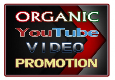 Youtube Video Marketing Promotion Real Via User