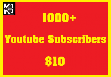 100+ Youtube Likes & 50+ Youtube Subscribers & 20 Comments High Quanlity Real & Non Drop