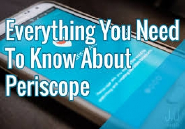 Give You 1000 Permanent Periscope Followers