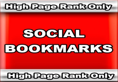 add your site to 100 + SEO social bookmarks, High Page Rank Quality Build