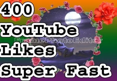 400  Video Likes Non drop with super fast delivery