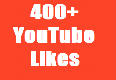 Get Instent 401+ YouTube Likes  Non Drop Guarantee Just