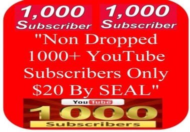 Instantly Start, Genuine & Lifetime Guarantee Non Dropped 100+ YouTube Channel Subscribers or 200+ Likes or 2000+ Views, Only