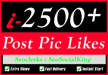 Fast 1000 High Quality Social Pictures Promotion