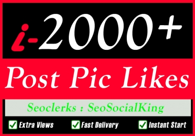 Instant Start and Fast 500 High Quality Social Pictures Promotion