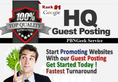 Google MonsterPlus+ 20 Guest Post Package+ Guaranteed 1st Page Ranking