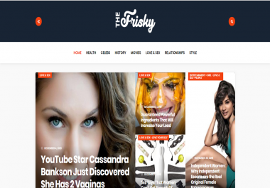 Publish Guest Post on Thefrisky.com DA 76 - Premium Dofollow Backlink