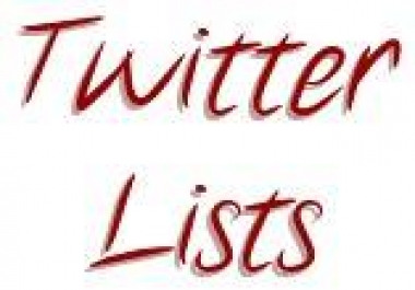 You need to be added to TWITTER LISTS for your account to look LEGIT