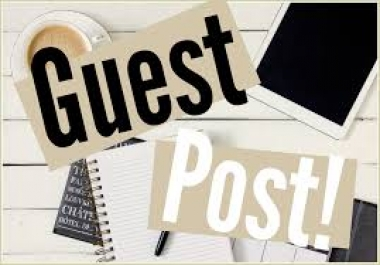 Submit guest post in medium.com Behance or Kinja and high pr blogs
