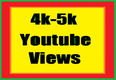 Wonder Full Pack 4,000-5,000 youtube views non drop active save fast delivery