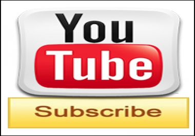 give you +60 youtube  channel subscribers