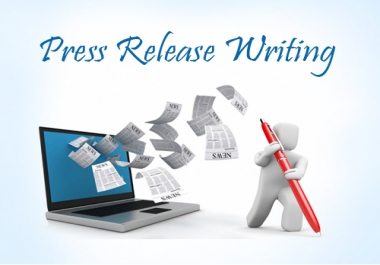 Press release writing by Native English writers within 24 hrs