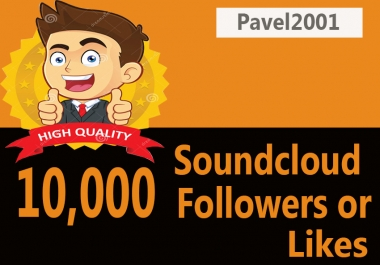 Instant 400 Soundcloud Followers Or Likes Only