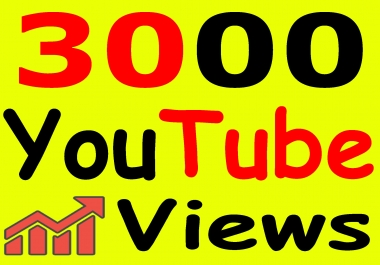 Get 3000+ YouTube Views & Bonus Likes with High Retention lifetime guarantee