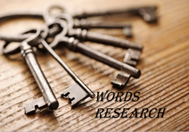 (MEGA SELL OFFER) Top high quality and profitable keywords research for your website