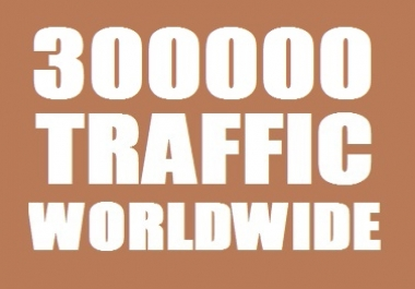 300000 Web Traffic Worldwide for 30 days