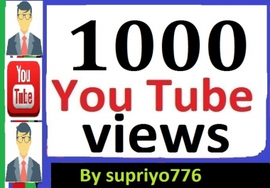 1000+ Safe HR YouTube Views + 50 Extra Bonus Likes
