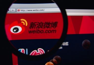 promote your business to 600K Active Weibo Users in China