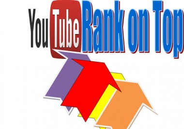 Rank your Video on youtube 1st page within 72 Hours Delivery