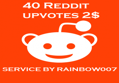 supper fast 40+ High quality Reddit upvotes to your post or comment within 4-6 hours