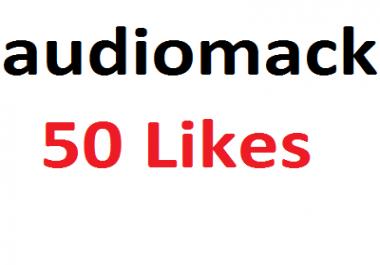 Add 50 audiomack Likes