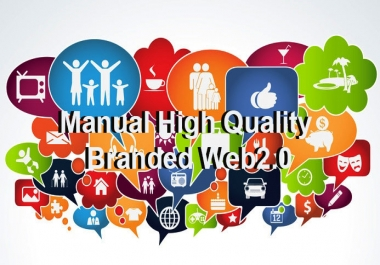 2018 Spacial Offer Manually create Web 2.0 Blogs Networks Service ONLY $0.12 / web 2.0