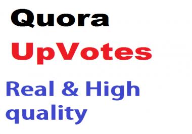 add 120 Quora UpVotes