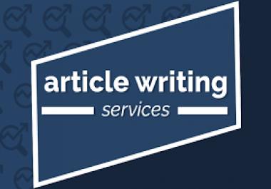 500 WORD UNIQUE SEO OPTIMIZED ARTICLES