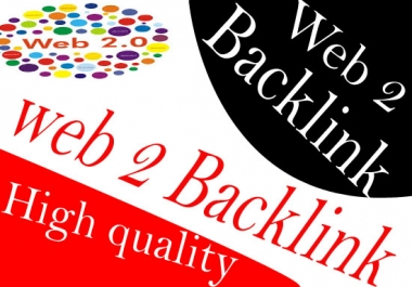 provide 10 Backlink From web 2.0 site