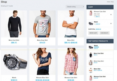 We will Develop a Woocommerce Website