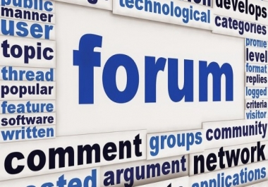 Get 10 Quality Topics/Replies in your forum
