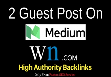 I Will Write Articles And Guest Post On Medium and WN (World News)