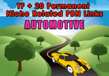 High TF+20 Permanent Automotive Niche Related PBN Links