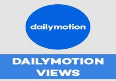 1000 Dailymotion Views