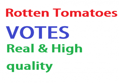 Provide 50 votes on Rotten Tomatoes