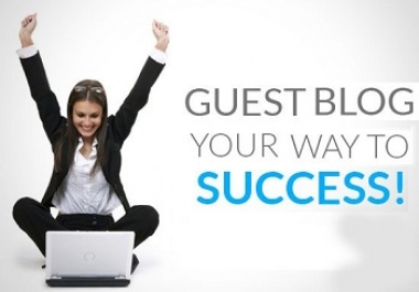 I can do two Guest Posting for you