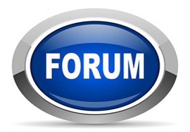 20 New Discussions On Your Forum