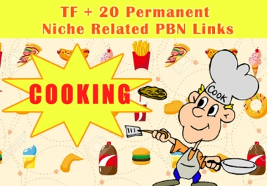 High TF+20 Permanent Cooking Niche Related PBN Links