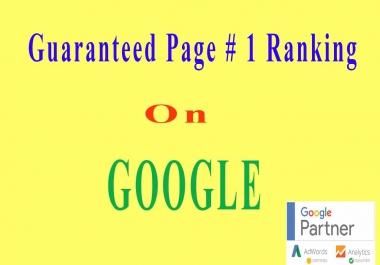 White hat SEO, Organic SEO -(Onpage & offpage SEO) Guaranteed Ranking