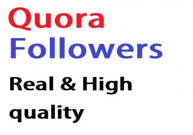 Add 120 Quora Followers