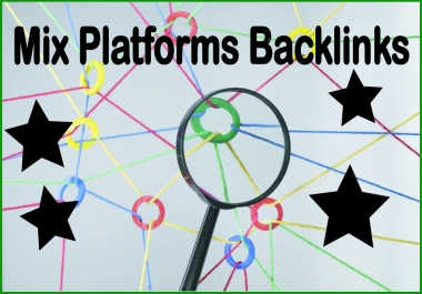 Get 3100 Mix platforms High PR Most Effective Backlinks