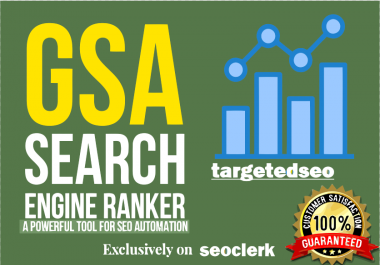 200,000 Gsa SER Powerful SEO Backlinks For Faster Index on Google