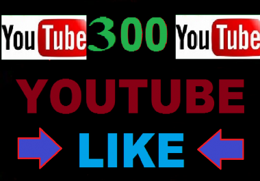 Instant 300-350 Youtube video worldwide Like only