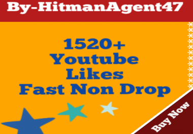 Guaranteed 1520+ Youtube Video Likes Complete 36-72 Hours