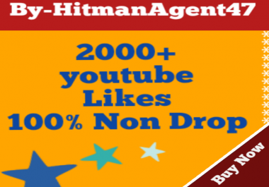 Guaranteed 2000+ Youtube Video Likes Very Fast Delivery