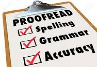 @@ I Will Professionally Proofread And Edit 1000 Words ##