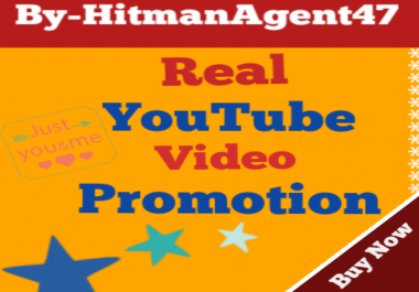 Youtube Marketing Promotion Real Via User