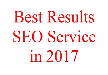 Provide Best SEO Results in 2017
