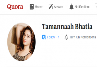 Give you 25+ Quora followers+25 upvotes within few hours